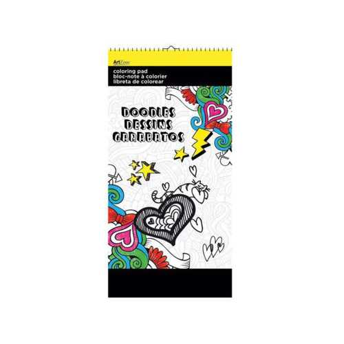 Doodles Small Coloring Pad ( Case of 24 )