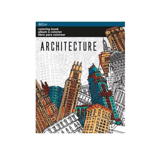 Architecture Coloring Book ( Case of 48 )