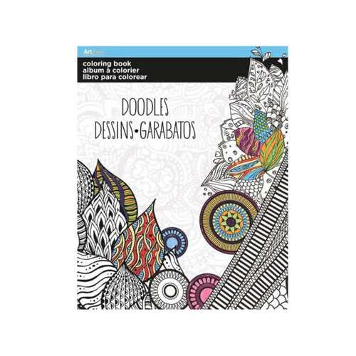 Doodles Coloring Book ( Case of 24 )