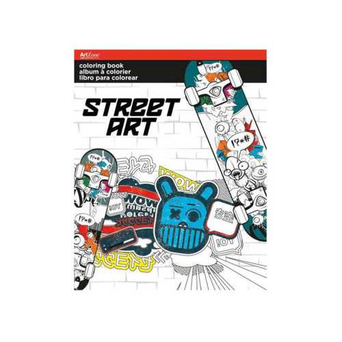 Street Art Coloring Book ( Case of 24 )