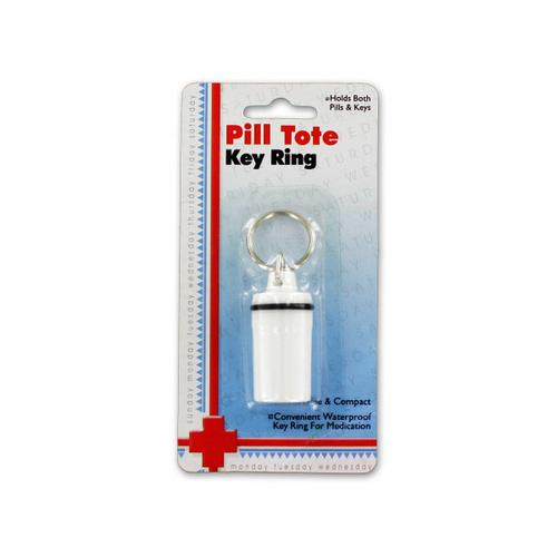 Pill Tote Key Ring ( Case of 36 )