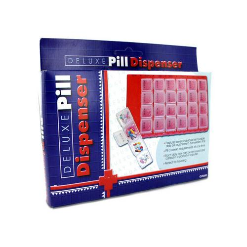 Deluxe Pill Dispenser ( Case of 72 )