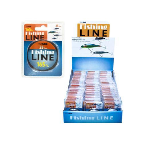 Shock Resistant Fishing Line Display ( Case of 72 )