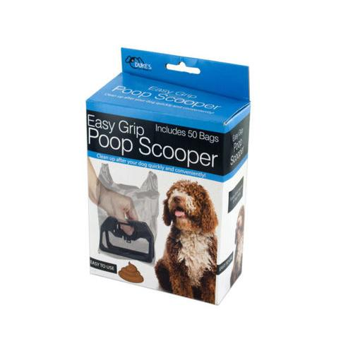 Easy Grip Poop Scooper with Bags ( Case of 18 )