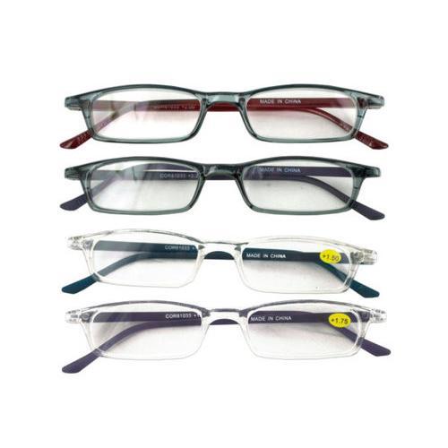 Narrow Framed Reading Glasses ( Case of 24 )