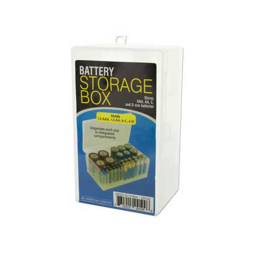 Battery Storage Box ( Case of 12 )