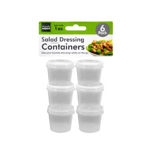 1 oz Salad Dressing Containers Set ( Case of 72 )