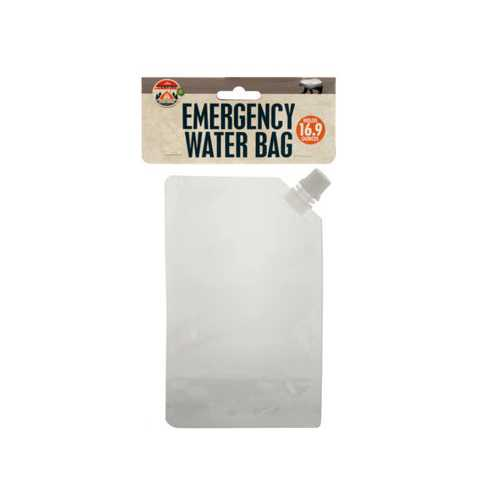 169 oz Emergency Water Bag ( Case of 48 )