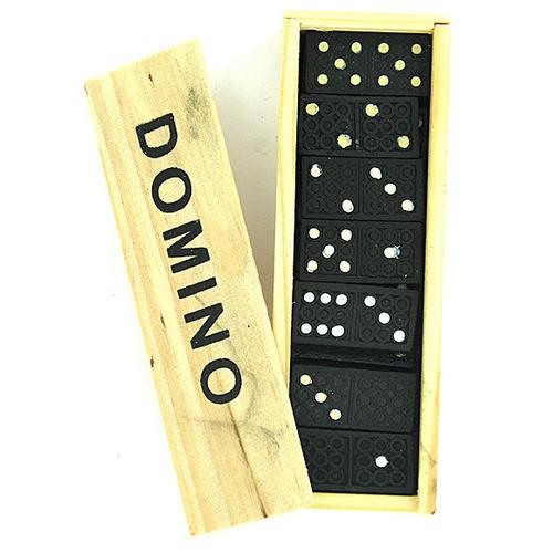 Domino Set in Wooden Box ( Case of 90 )