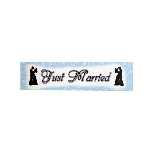 Just Married Wedding Banner ( Case of 96 )