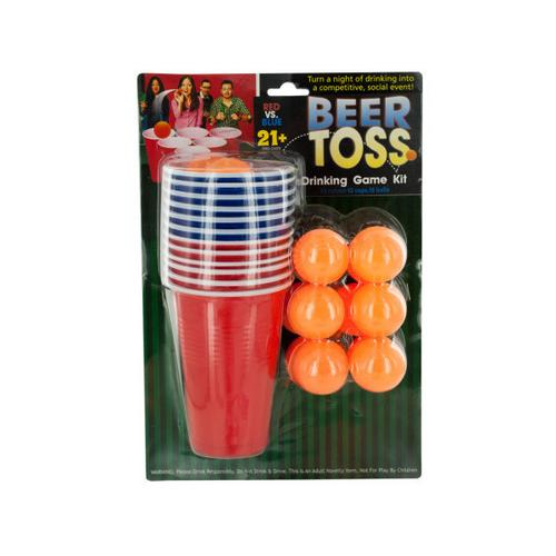 Beer Toss Drinking Game Kit ( Case of 16 )