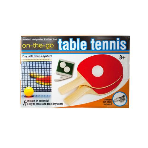 Portable Table Tennis Set ( Case of 8 )