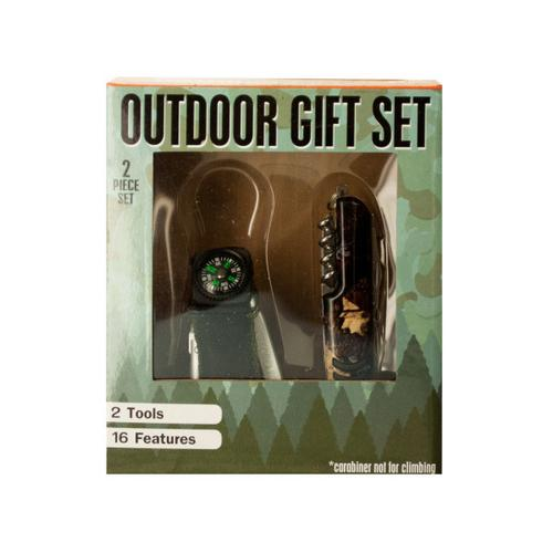 Outdoor Multi-Function Tool Gift Set ( Case of 4 )