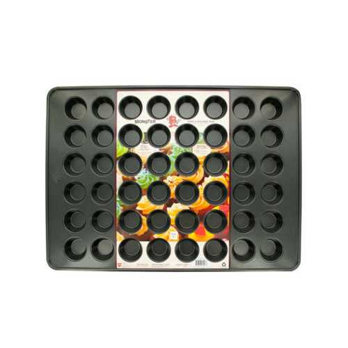48-Cup Monster Mini Muffin Baking Pan ( Case of 6 )