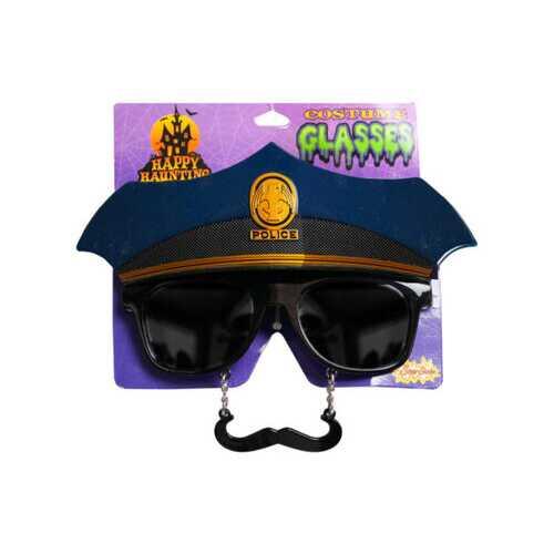 Police Costume Glasses ( Case of 24 )