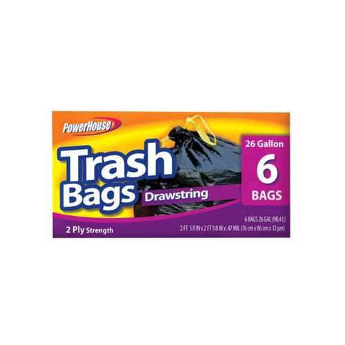 Drawstring Trash Bags Set ( Case of 20 )