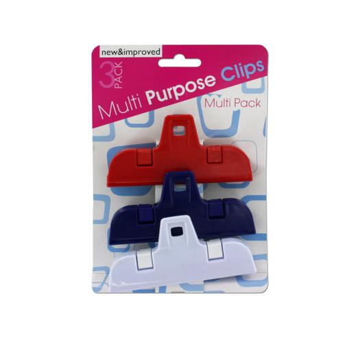 Medium Multi-Purpose Clip Set ( Case of 24 )
