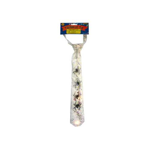 Flashing Light Up Tie- Assorted ( Case of 24 )