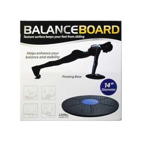 Balance Board Exercise Platform 2 Asst Colors ( Case of 6 )