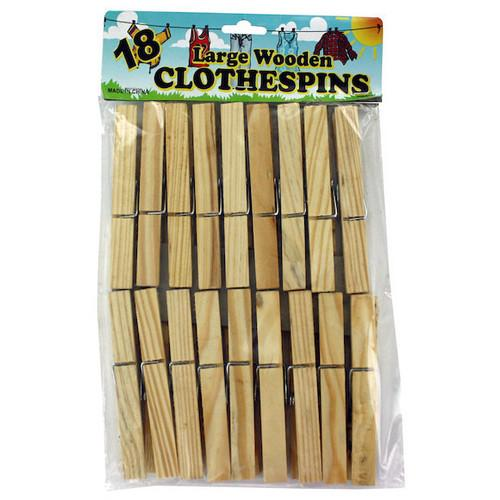 Wooden Clothespins ( Case of 24 )