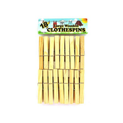 Wooden Clothespins ( Case of 96 )