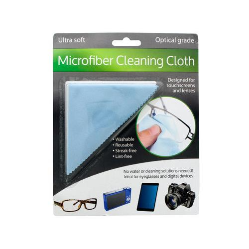 Optical Grade Microfiber Cleaning Cloth ( Case of 24 )
