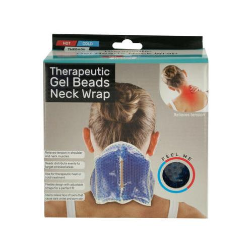Therapeutic Gel Beads Neck Wrap ( Case of 4 )