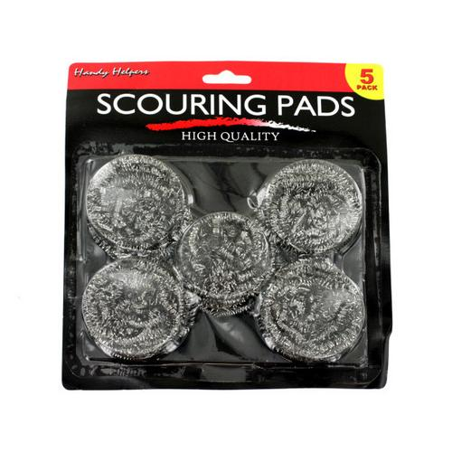 Metal Scouring Pads Set ( Case of 12 )