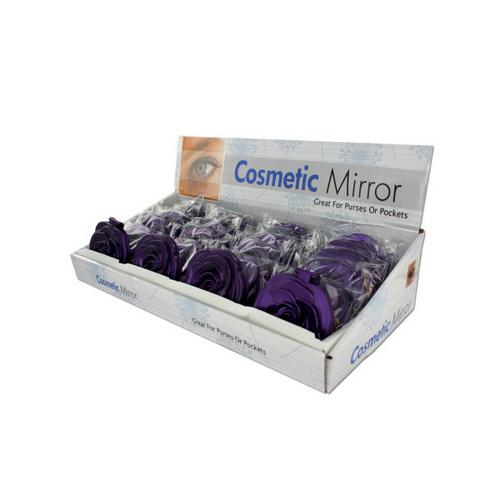 Rosette Design Cosmetic Mirror Countertop Display ( Case of 48 )