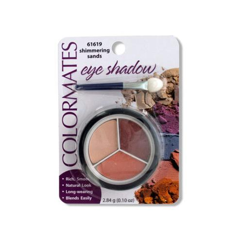 Colormates Shimmering Sands Eye Shadow Compact ( Case of 64 )