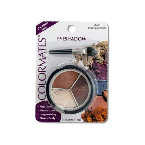 Colormates Shades of Suede Eye Shadow Compact ( Case of 96 )