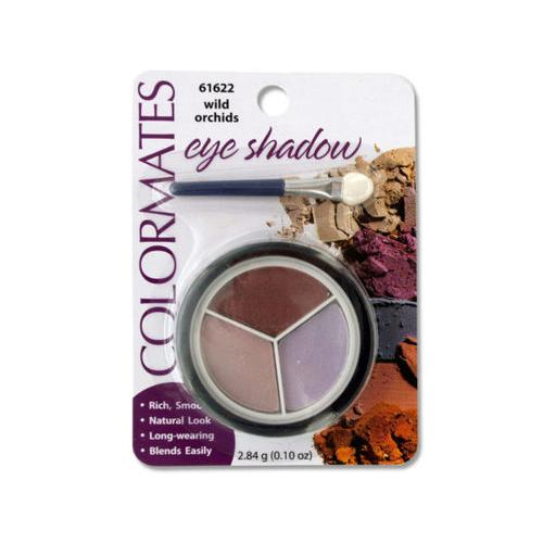 Colormates Wild Orchids Eye Shadow Compact ( Case of 64 )