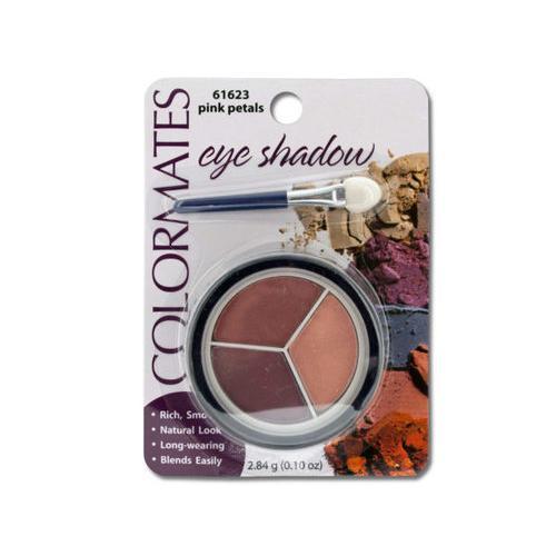 Colormates Pink Petals Eye Shadow Compact ( Case of 64 )