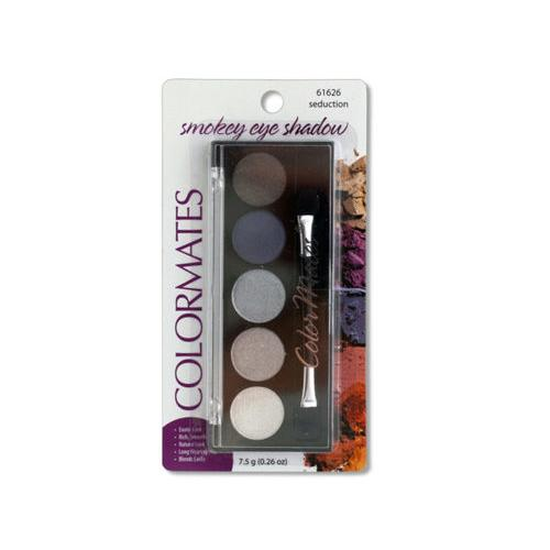 Colormates Seduction Smokey Eye Shadow Compact ( Case of 48 )
