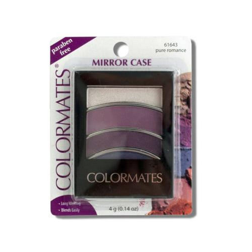 Colormates Pure Romance Mirror Case Eye Shadow ( Case of 72 )