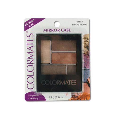 Colormates Mocha Motion Mirror Case Eye Shadow ( Case of 72 )