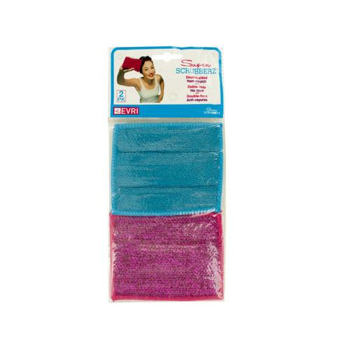 Double-Sided Non-Scratch Super Scrubbers ( Case of 72 )