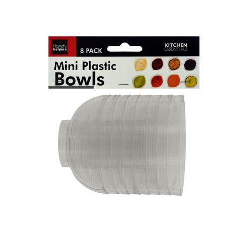 Clear Mini Condiment Bowls Set ( Case of 12 )