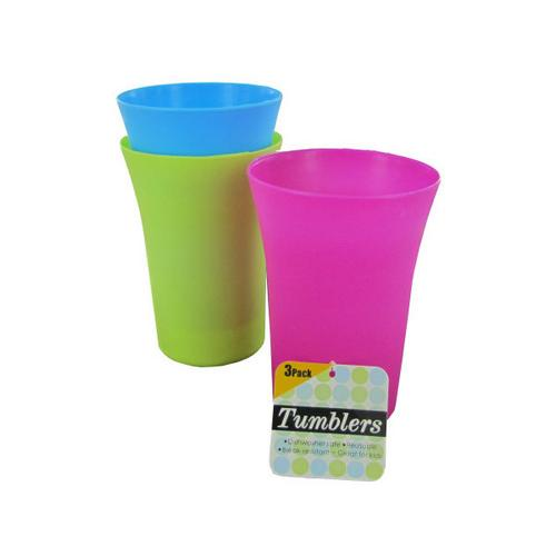135 oz Colorful Tumblers Set ( Case of 72 )