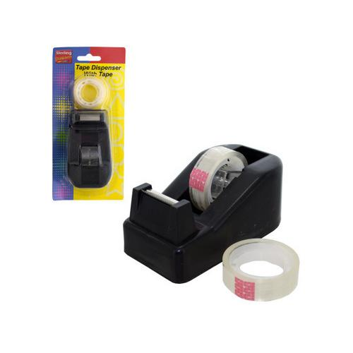 Tape Dispenser with Tape Set ( Case of 12 )