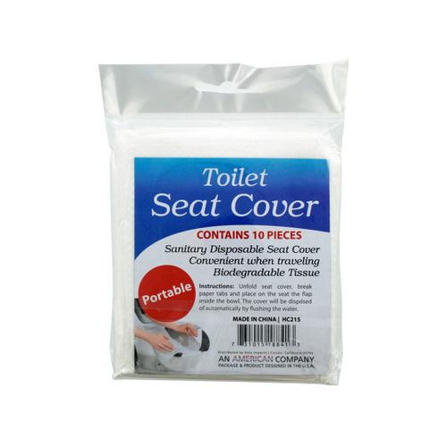 Disposable Toilet Seat Covers ( Case of 48 )