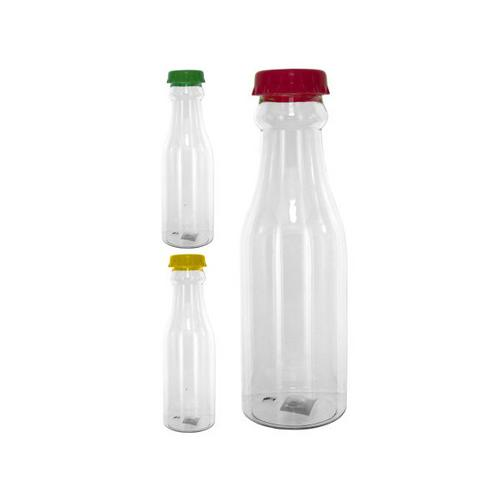 Plastic Soda Pop Style Drinking Bottle with Cap ( Case of 96 )