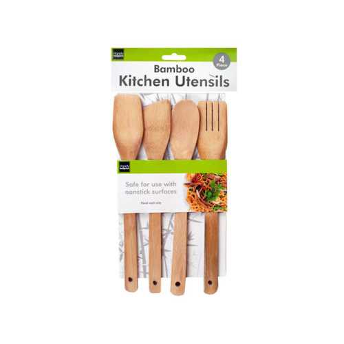 4 piece bamboo tools ( Case of 12 )