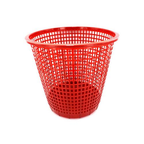 Plastic Mesh Trash Can ( Case of 18 )