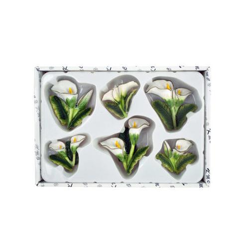 Decorative Calla Lily Magnets Set ( Case of 12 )