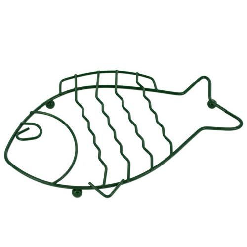 Green Wire Fish Trivet ( Case of 48 )