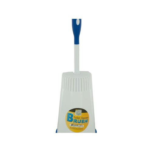 Toilet Cleaner Brush in Caddy ( Case of 12 )