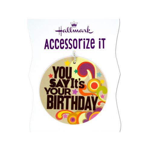 'You Say It's Your Birthday' Gift Trim Tag ( Case of 72 )