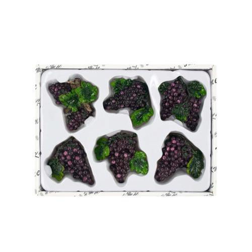 Decorative Grapes Magnets Set ( Case of 12 )