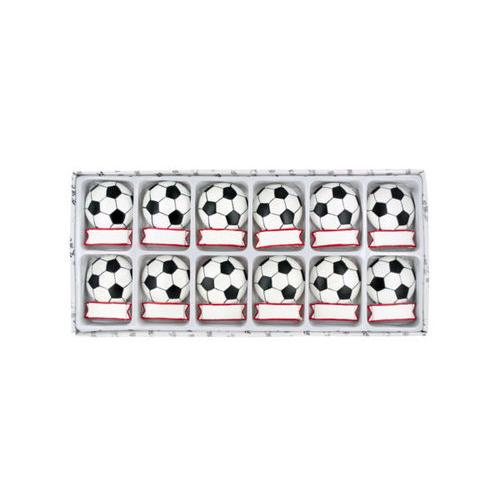 Decorative Soccer Ball Magnets Set ( Case of 24 )